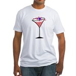 Patriotic Cocktail Fitted T-Shirt