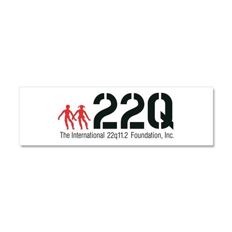 22q Official Logo - Sm Car Magnet 10 x 3