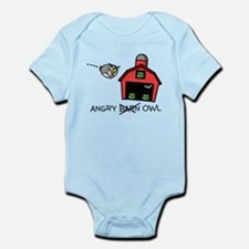 Angry Owl Infant Bodysuit