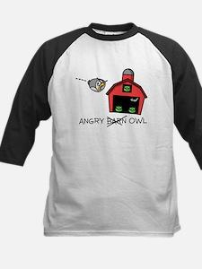 Angry Owl Kids Baseball Jersey