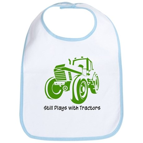Green Tractor Bib