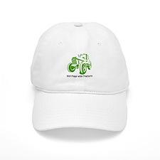 Green Tractor Baseball Cap