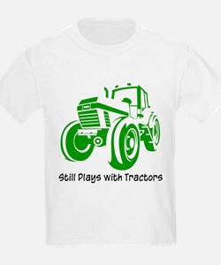 Green Tractor T-Shirt