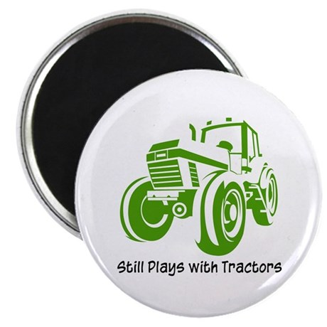 "Green Tractor 2.25"" Magnet (100 pack)"