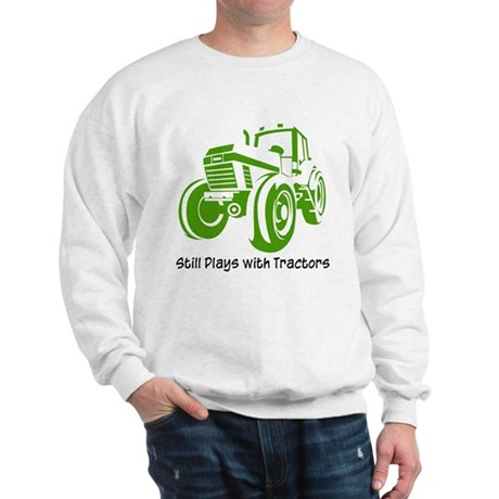 Green Tractor Sweatshirt