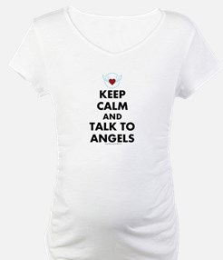 Keep Calm and Talk to Angels Shirt