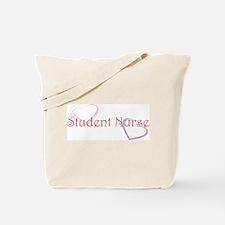 Student Nurse-Hearts Tote Bag