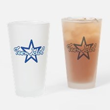 Teen Idol Drinking Glass