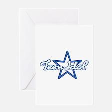 Teen Idol Greeting Card