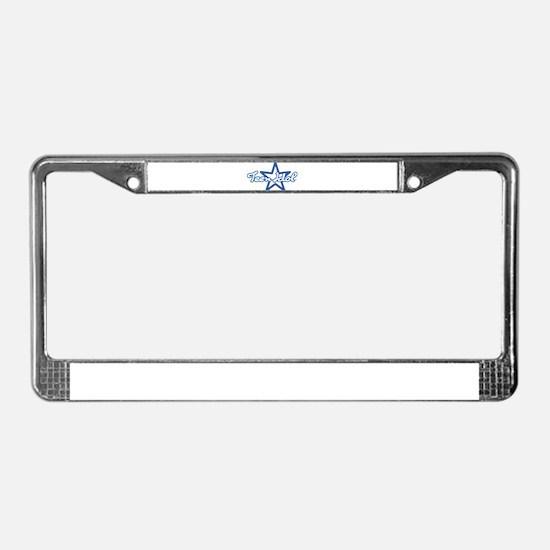Teen Idol License Plate Frame