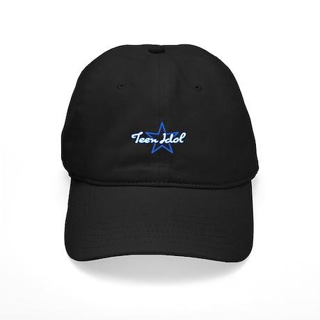 Teen Idol Black Cap