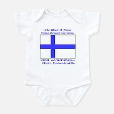 Finnish Breast Milk Onesie