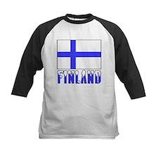 Finland Flag Name Snow Tee