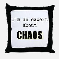 Im an expert about CHAOS Throw Pillow