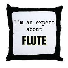 Im an expert about FLUTE Throw Pillow