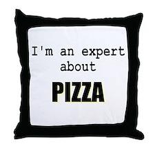 Im an expert about PIZZA Throw Pillow