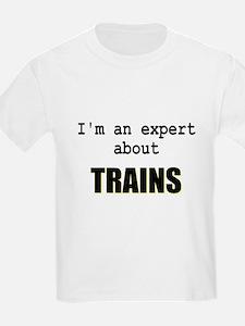 Im an expert about TRAINS T-Shirt