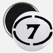 Circle Seven Magnet