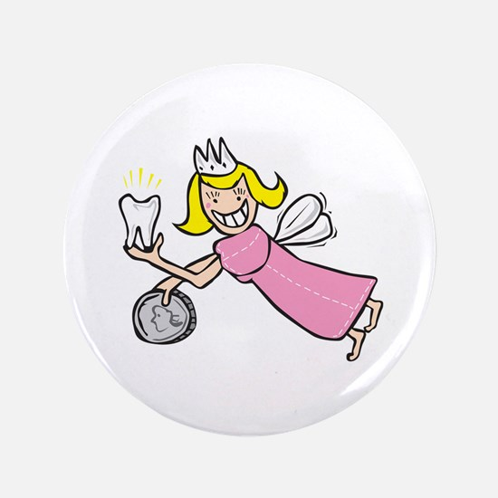 "Tooth Fairy 3.5"" Button"