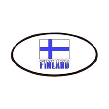 Finland Flag Name Snow Patches