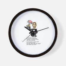 Magician Wall Clock