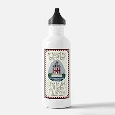 New London Ledge Lighthouse Water Bottle