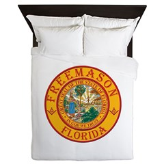 Florida Freemasons Queen Duvet