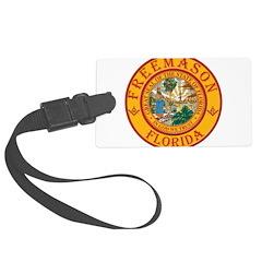 Florida Freemasons Luggage Tag