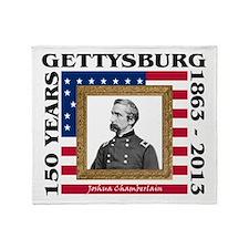 Joshua Chamberlain - Gettysburg Throw Blanket