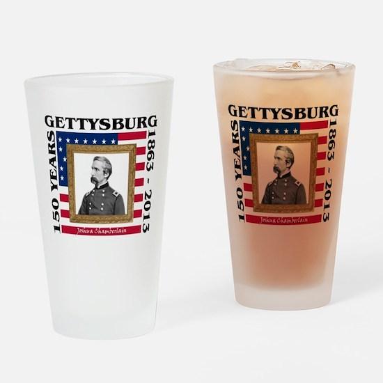 Joshua Chamberlain - Gettysburg Drinking Glass