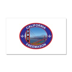 CALIFMASON copy.png Car Magnet 20 x 12