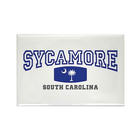 Sycamore South Carolina, SC, Palmetto State Flag R