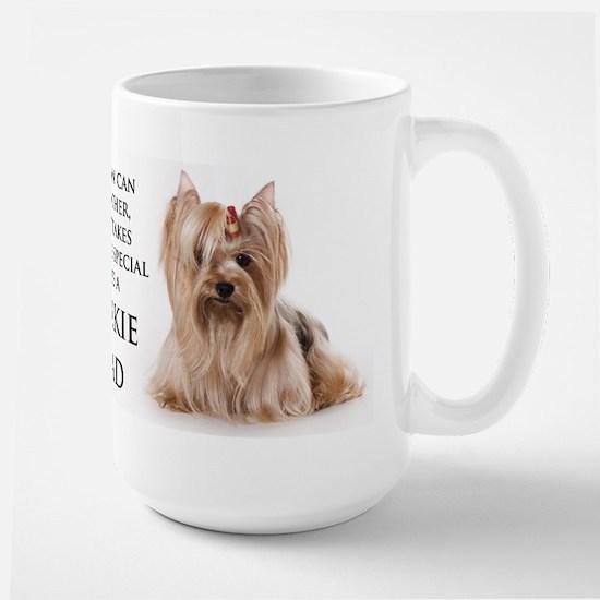 Yorkie Dad Large Mug