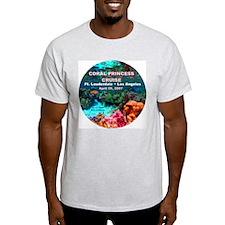 Coral Princess FLL-LA 2007 Ash Grey T-Shirt