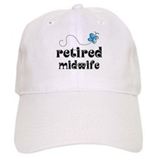 Retired Midwife Baseball Cap