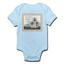 Coquille River Lighthouse Infant Bodysuit