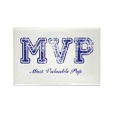 Most Valuable Pop – MVP – Violet – Rectangle Magne