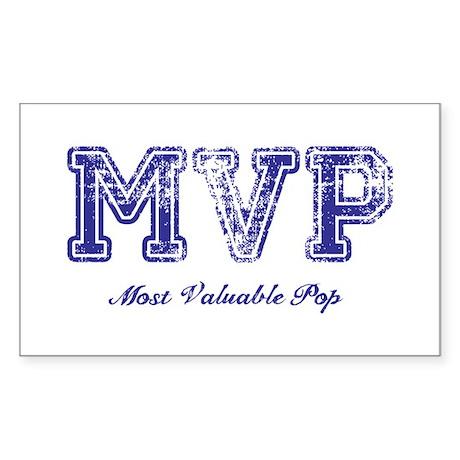 Most Valuable Pop – MVP – Violet – Sticker (Rectan