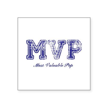 Most Valuable Pop – MVP – Violet – Square Sticker