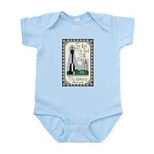 Cape Henry Lighthouse Infant Bodysuit