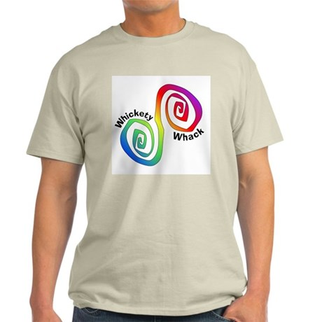 Rainbow Whickety Whack Ash Grey T-Shirt