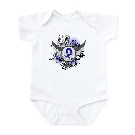 Wings and Ribbon Arthritis Infant Bodysuit