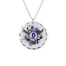 Wings and Ribbon Arthritis Necklace