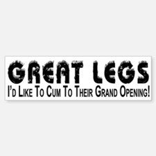 Cum To Grand Opening - Bumper Bumper Bumper Sticker