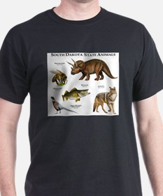 South Dakota State Animals T-Shirt