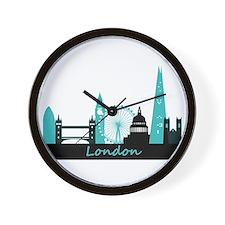 London landmarks Wall Clock