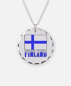 Flag 10x10 Sample Necklace