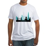 London landmarks Fitted T-Shirt