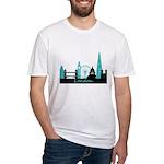 London landmarks Fitted T-Shirt