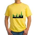 London landmarks Yellow T-Shirt
